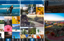 Vídeos Instagram. Se rediseña su feed de vídeos e introduce canales con contenidos recomendados