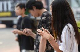 redes sociales desde el móvil