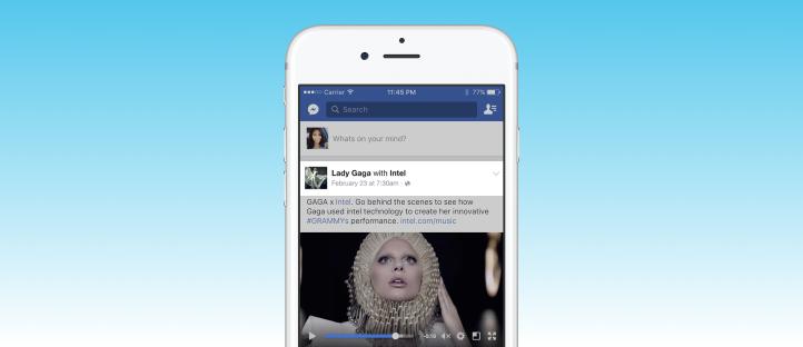 Ejemplificación de la necesaria atribución  entre marcas al publicar  contenidos en Facebook de carácter patrocinado.