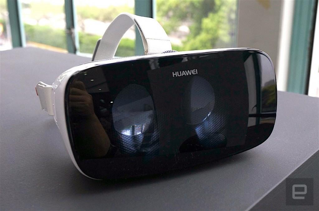 Vista del Huawei VR. Imagen: ENGADGET