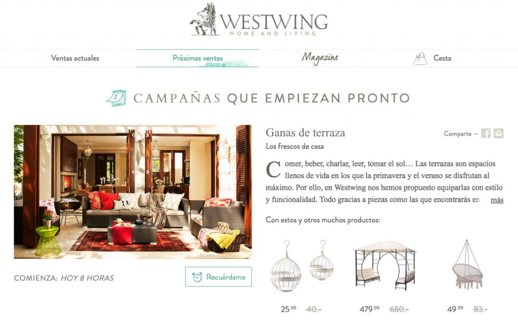 Tienda de decoraci n online westwing opiniones y an lisis - Westwing opiniones ...