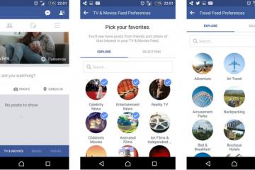 nuevo feed de facebook