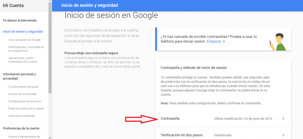 google promt