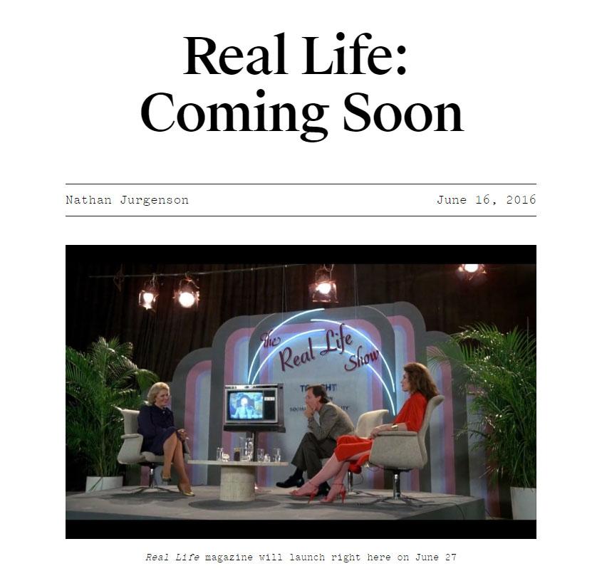 revista real life