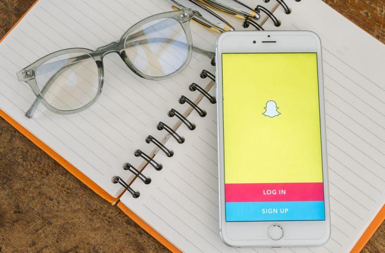 Adultos en Snapchat