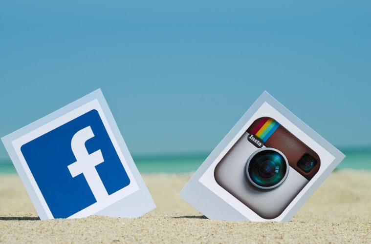 Instagram con Facebook