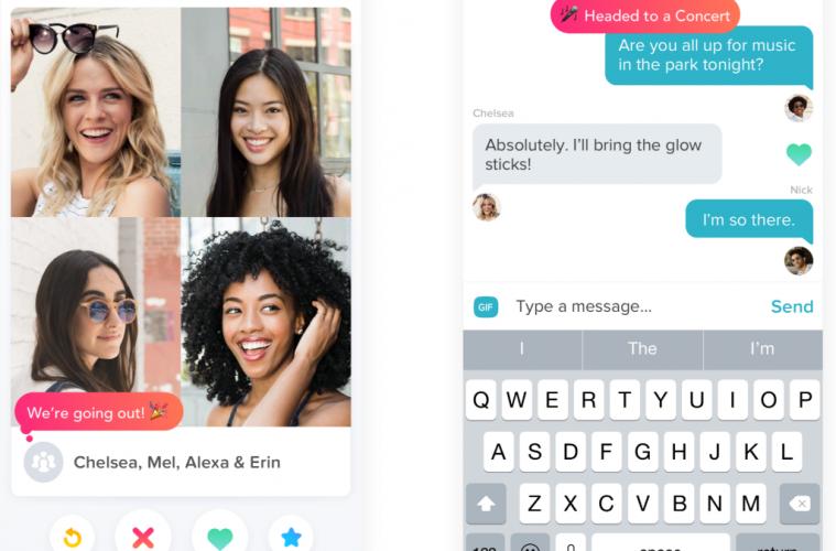 app de citas Tinder Social