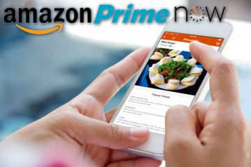 Aplicación de Amazon Prime Now