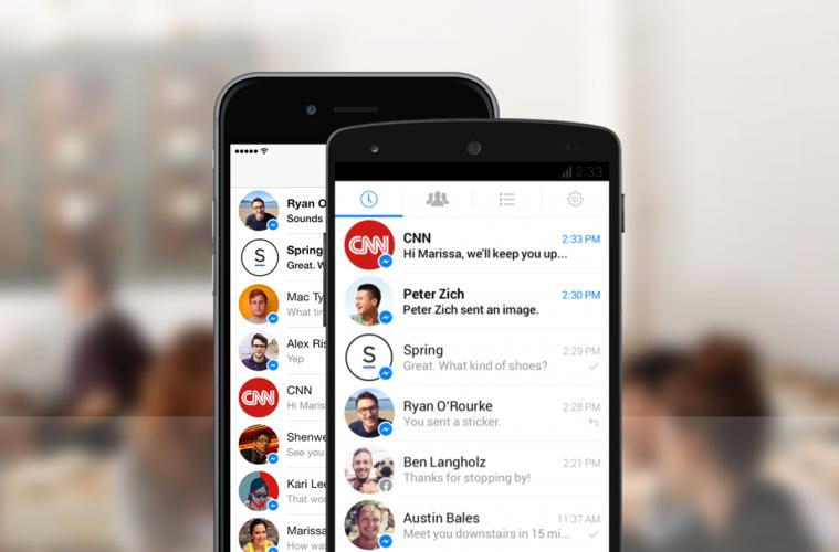 chatbots de Facebook Messenger