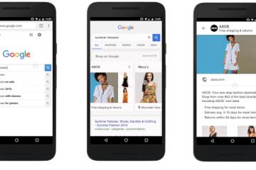 nuevos formatos de google shopping