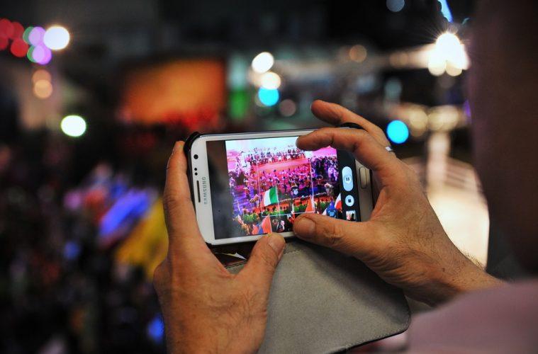 Botón de live video