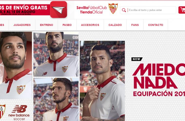 tienda online Sevilla FC