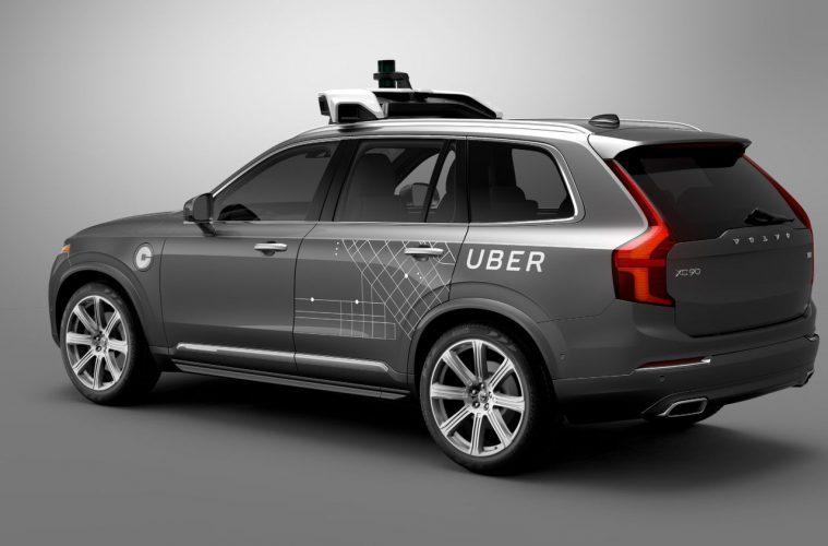 Uber y Volvo