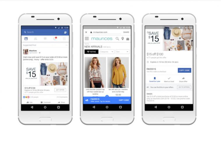 cupones ofertas facebook