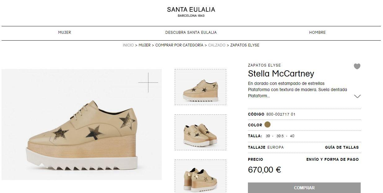 tienda online de Santa Eulalia