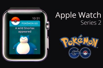 Pokemon Go en apple watch