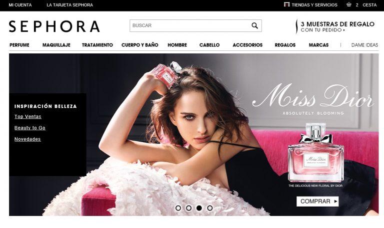 eCommerce Sephora online