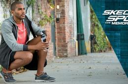 Imagen que muestra una de las novedades de las zapatillas skechers