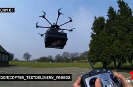 entrega con drones