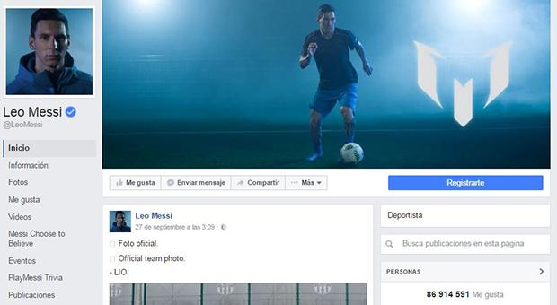 deportistas en las redes sociales