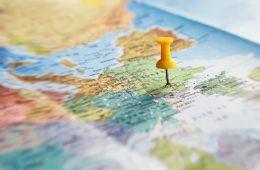 mapa de fotografías instagram