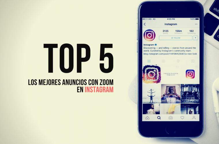 anuncios con zoom en instagram