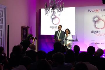 La plataforma de pagos Snap premiada en los Digital Awardzz