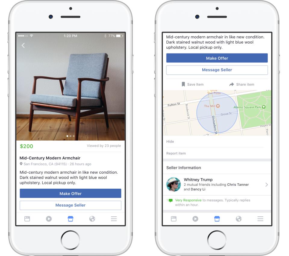 Marketplace de Facebook interior 2
