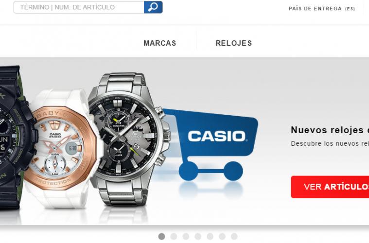 Tienda online Casio