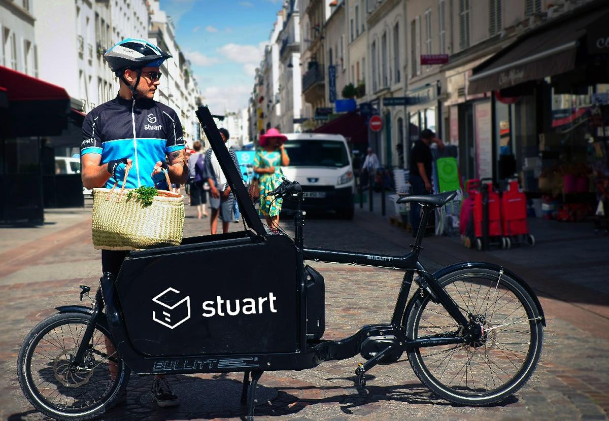 El servicio de logística urbano Stuart llega a Madrid para realizar ...