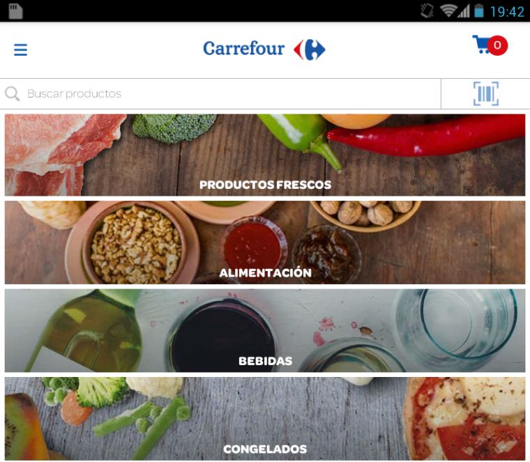 Analizamos la App Carrefour.