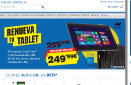 Tienda informática Beep online