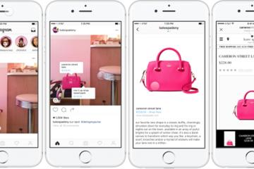 función de compra en Instagram