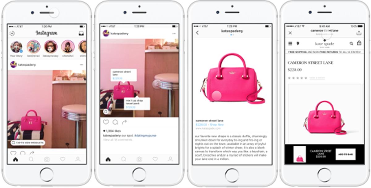 Una nueva funci n de compra en instagram te permitir for Compra online mobili