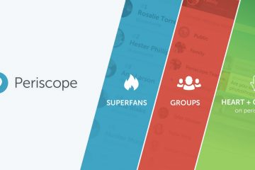 Superfans, grupos y Periscope.tv