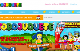 Todojuguete online