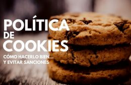 CÓMO CREAR UNA POLITICA DE COOKIES