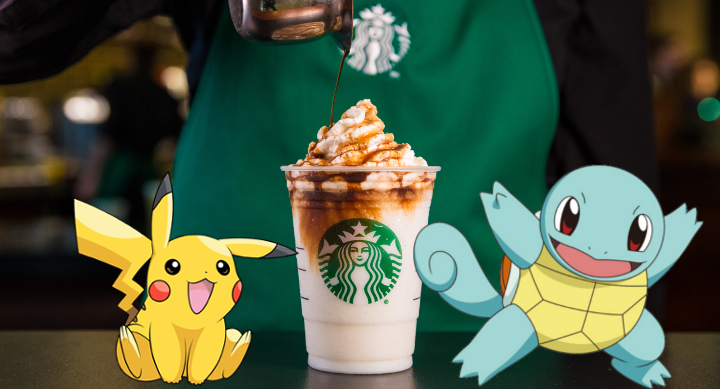 Pokemon Go y Starbucks
