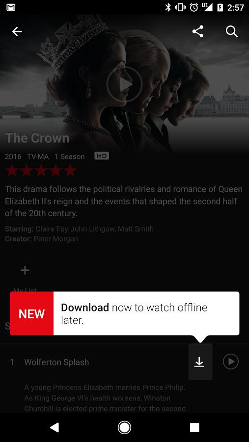 Ya se puede descargar contenido de Netflix