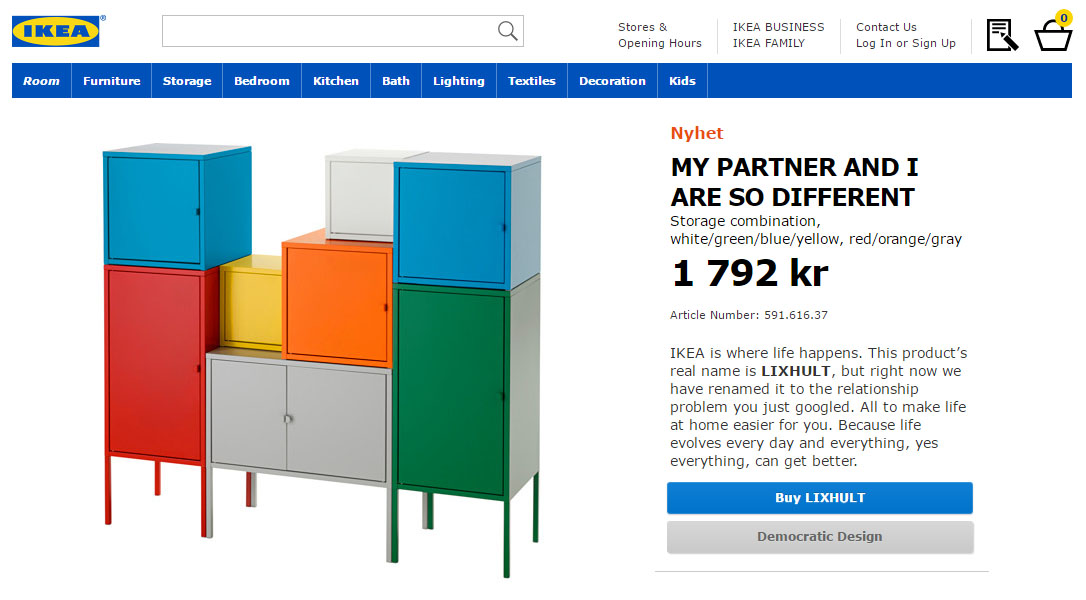 ikea retail therapy partner