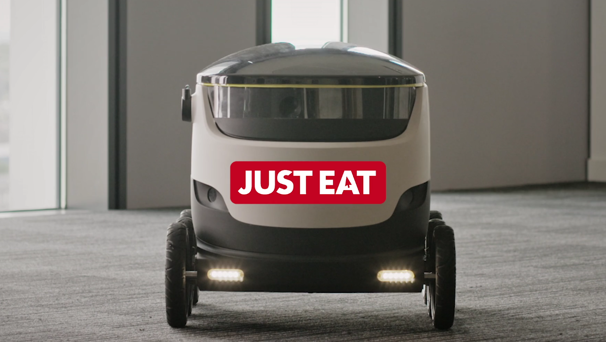 robots just eat