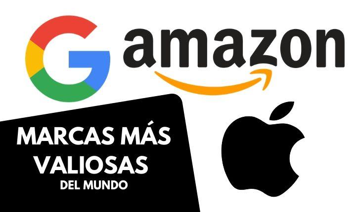 Amazon, Apple y Google, marcas más valiosas del mundo. Santander, la más valiosa de España (Brand Finance, 2020)