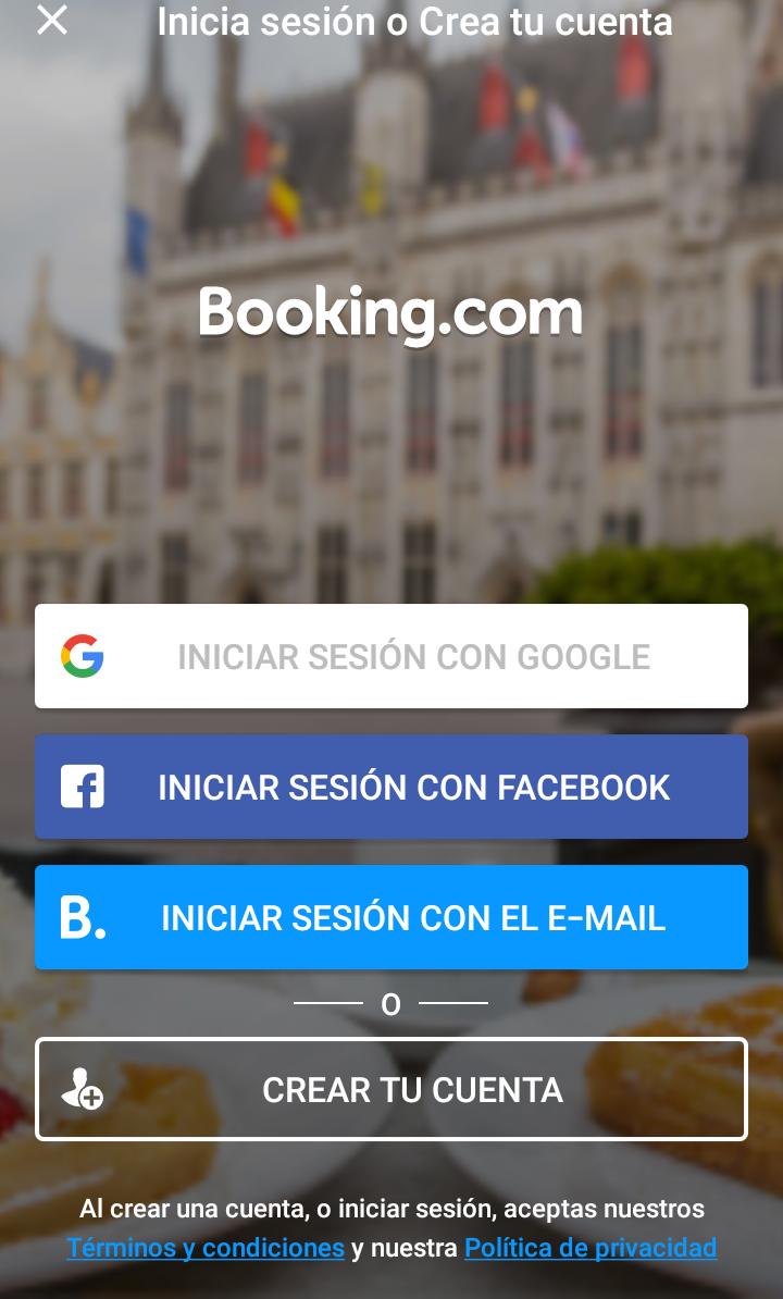 app de booking