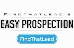 FindThatLead Prospection permite buscar clientes potenciales de manera sencilla