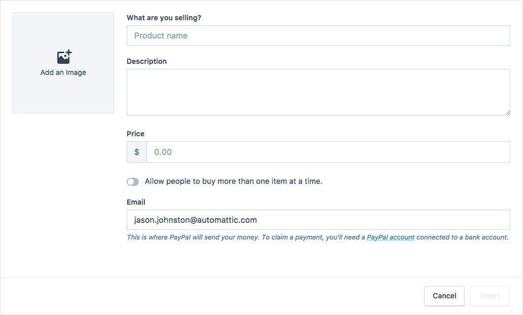 PayPal en WordPress 2