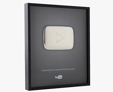 boton de plata youtube