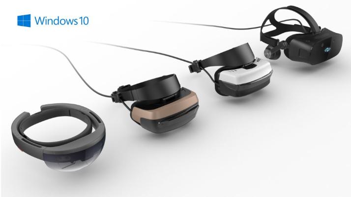 Gafas para realidad mixta de Windows 10.