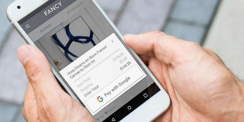 Ya puedes pagar con Google tus compras online