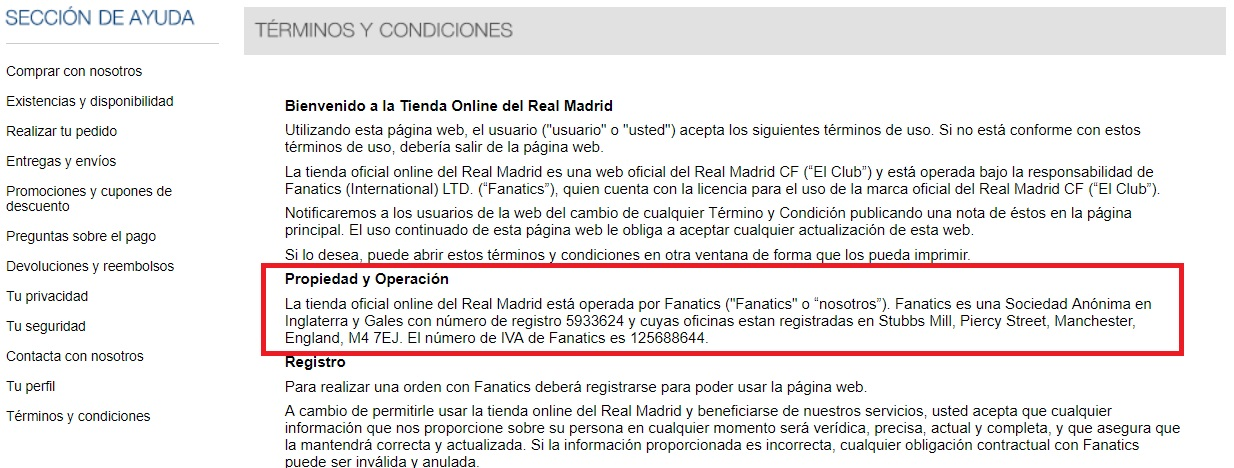 real madrid online