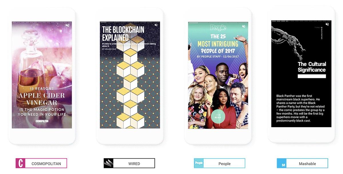 Google lanza AMP Stories, un nuevo formato para potenciar la interacción en mobile